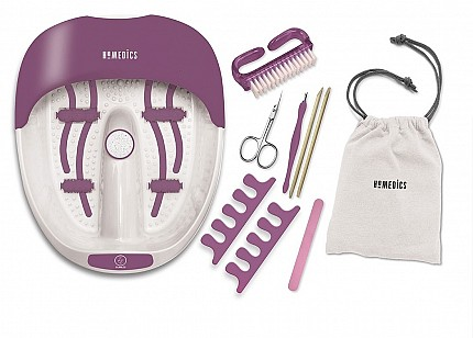 Homedics FS-100DB   Luxury Foot Spa & Nail Kit