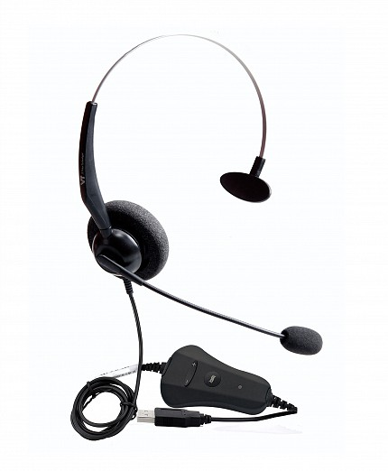 VT 1000-OMNI Mono PC Headset USB