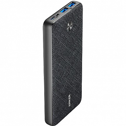Anker PowerCore Essential Powerbank 20000 Fabric Texture Black