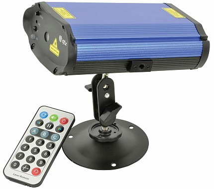 QTX RGB Mini Battery Laser 152.767UK