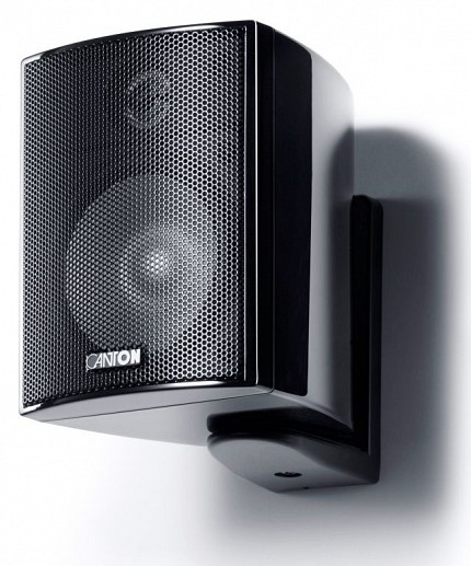 Canton PLUS MX.3 Compact HiFi Onwall Speaker 3 70W Black (PAIR)